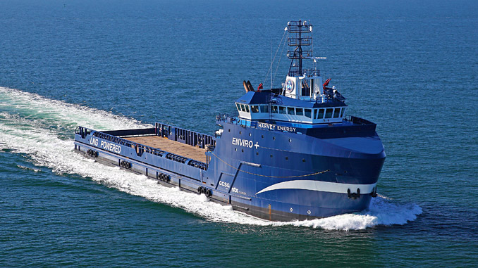 Harvey Gulf's fleet of LNG-fuelled PSVs are to be fitted with Wärtsilä Energy Storage systems, giving them tri-fuel capability