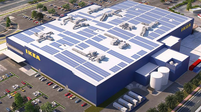 The IKEA Australia Clean Energy Transformation Project will transition IKEA Adelaide to operating with 100% renewable energy by 2025