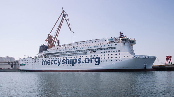 Mercy Ships – setting sail with 'Global Mercy' in 2021