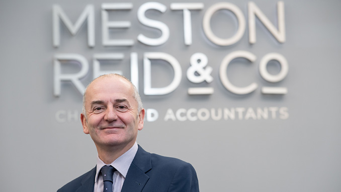 Audit, accounts and business assurance partner at Aberdeen chartered accountancy firm Meston Reid & Co, Mark Brown