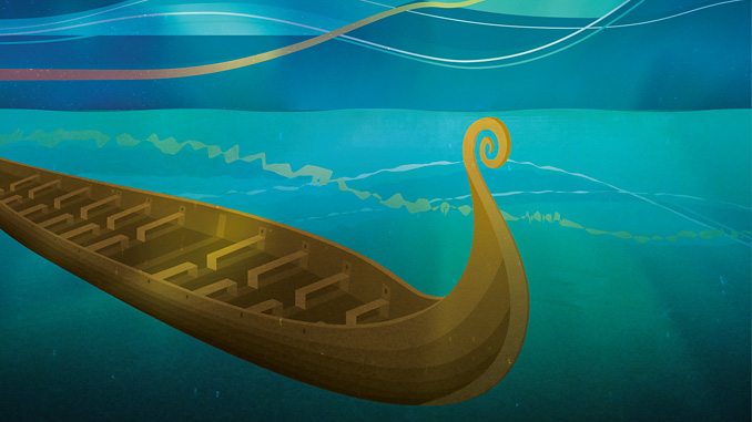 Longship – the project for capture, transport and storage of CO₂ (illustration: Ministry of Petroleum and Energy/Miksmaster Creative)