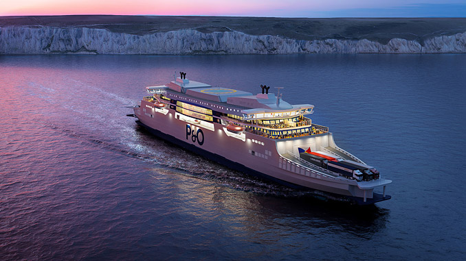 P&O Ferries' new series of 'super ferries' will be powered by Wärtsilä 31 engines fitted with the latest Wärtsilä Data Communication units
