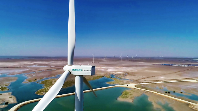 Siemens Gamesa's first 50 MW project in a tidal area of Gharo in the vicinity of Karachi, Pakistan, has been generating clean electricity since March 2019
