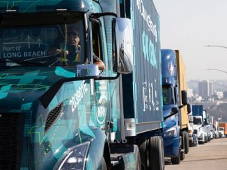 The award enables the nation's largest commercial deployment of Class 8 battery-electric trucks