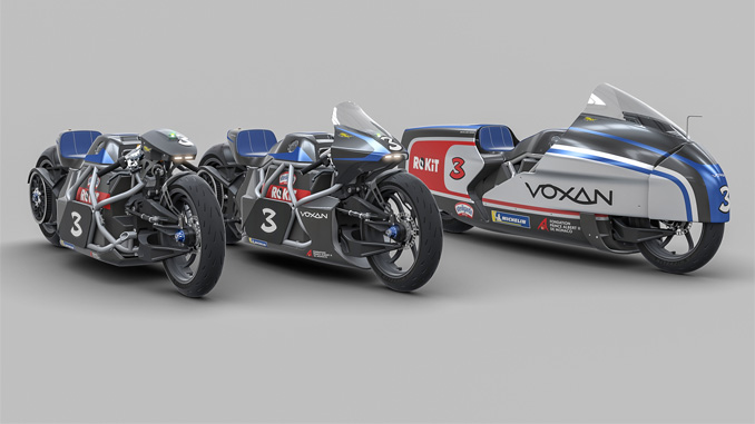 The different versions of the Voxan Wattman electric motorcycle