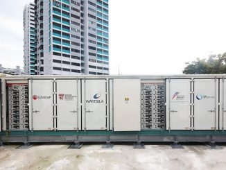 Singapore's first utility-scale energy storage system