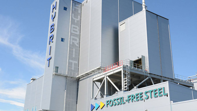 The HYBRIT pilot plant for the hydrogen direct reduction of iron ore started operation in Luleå on 31 August 2020