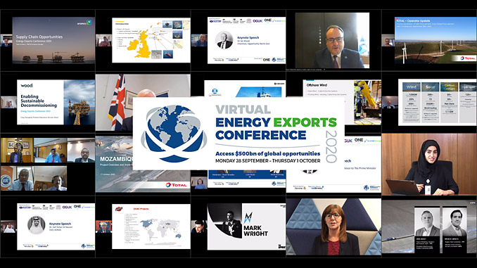 2,500 attendees heard from 200 speakers during the four-day Virtual Energy Exports Conference