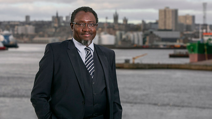 Dr Ollie Folayan, chair of AFBE-UK Scotland (photo: AFBE-UK)