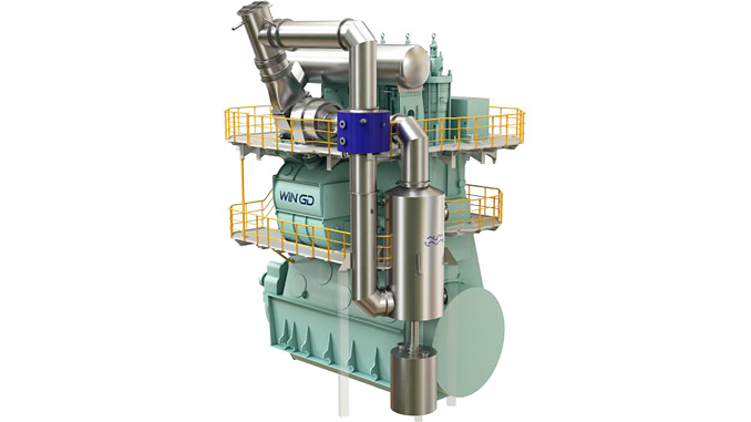Alfa Laval PureCool, part of WinGD's iCER technology on WinGD X-DF engines