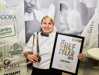 2020's Compass Young Chef of the Year, Izabela Ginter