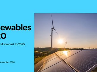 Renewables will account for almost 90% of the increase in total power capacity worldwide in 2020 and will accelerate in 2021 to their fastest growth in the last 6 years