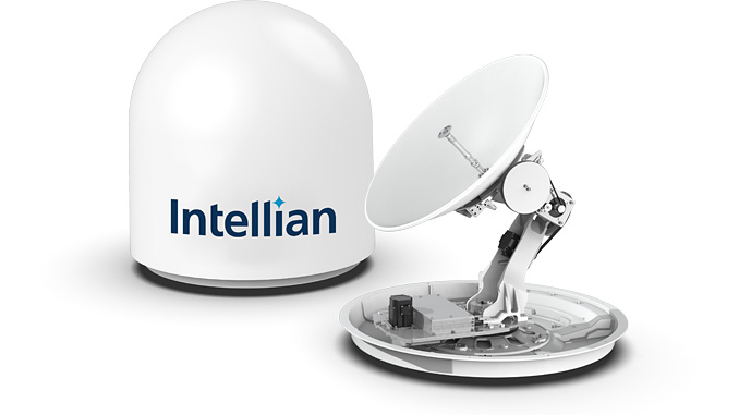 Intellian's v60Ka 2 (above) and v100NX Ka antennas are now approved for the THOR 7 satellite network