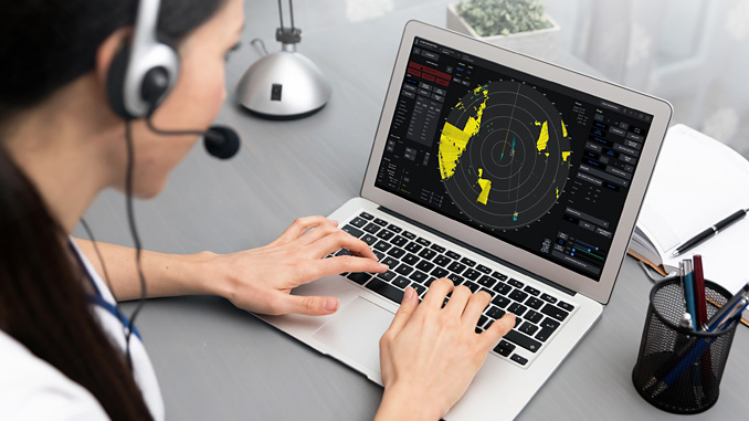 Kongsberg Digital's new radar application will enable instructors to facilitate online radar training for students, who can practice anywhere and anytime using their own laptop and an internet connection
