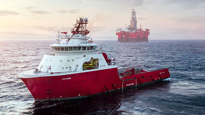 The 'West Bollsta' semi-submersible drilling rig in the southern Barents Sea