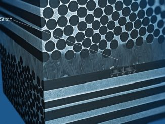 NAWAStitch-reinforced carbon fibre composites have shear strength increased by a factor of 100 and shock resistance by a factor of 10