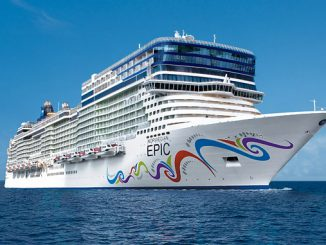 'Norwegian Epic', last vessel in the series of Yara Marine scrubber retrofits for NCL, completed September 2020