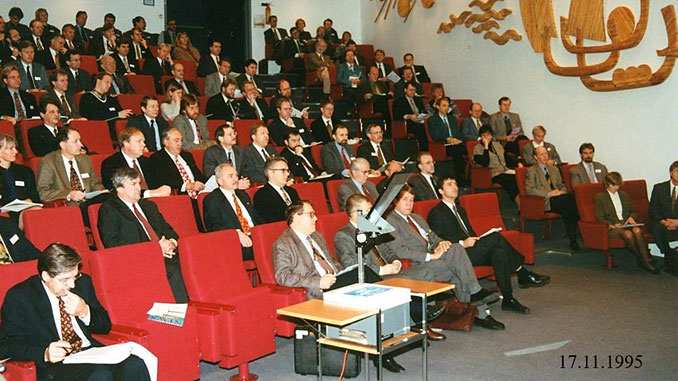 From the official opening of the forum – Jens Stoltenberg in the front row