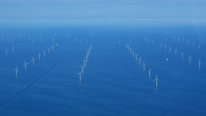 Ørsted's Walney offshore wind farm in the UK