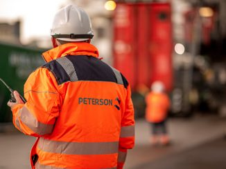 Staff working at one of Peterson's operational sites