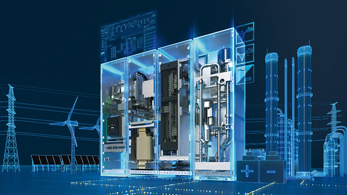 Siemens presents Sinamics PCS, a liquid-cooled, robust power conversion system for battery storage systems
