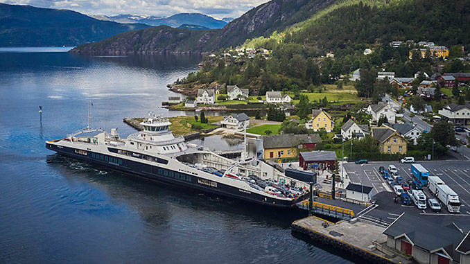 For many western Norway motorists, the daily commute includes crossing fjords by car ferries