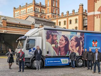 Through the use of electric trucks, the Carlsberg Group and Feldschlösschen show that carbon neutral distribution can be achieved