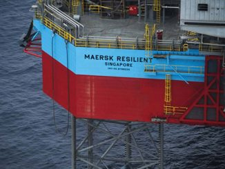 'Maersk Resilient' is a 350 foot, Gusto-engineered MSC CJ 50 high-efficiency jack-up rig which was delivered in 2008