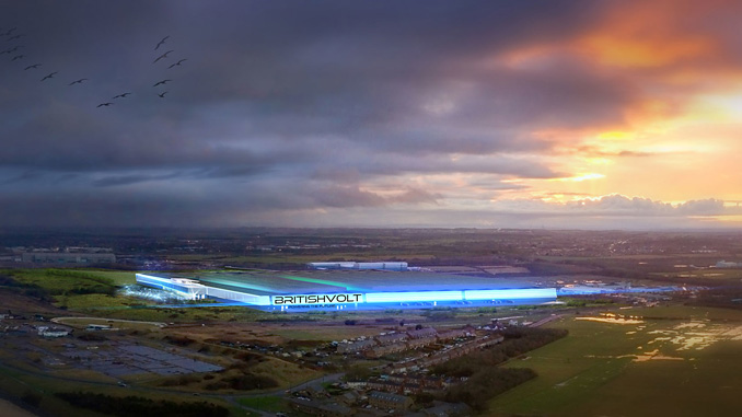 The gigaplant will be built on a 95-hectare site, formerly the site of the Blyth Power Station