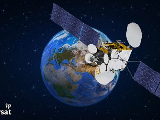 The fourteenth satellite currently in service with Inmarsat, GX5
