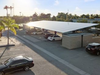 Kern Solar Structures' CarPorT™ is a premium solar structure built exclusively with strong structural steel to endure any sort of wind conditions the installation site may deal with