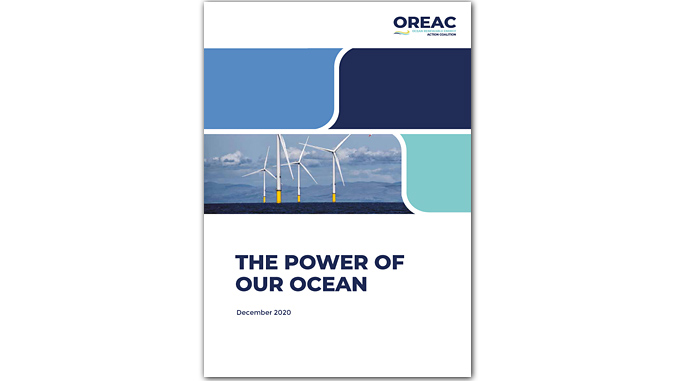 OREAC's new report 'The Power of Our Ocean' highlights how 1,400 GW of offshore wind is achievable by 2050