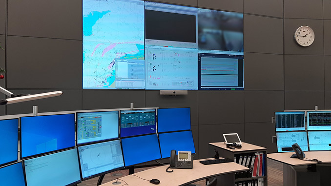 Full access to vital VTS information is provided by the Wärtsilä Navi-Harbour WebVTS 5.0 software application, thereby enhancing the operational safety of Wintershall Noordzee's offshore installations