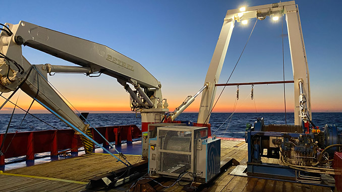 iSURVEY operations on the OSV Cecilia