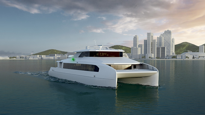 Busan Port Authority all-electric ferry