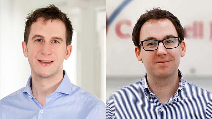 Singapore-based Will Pyle and Newcastle-based Alex Hudson have been appointed Directors (photos: CJC)