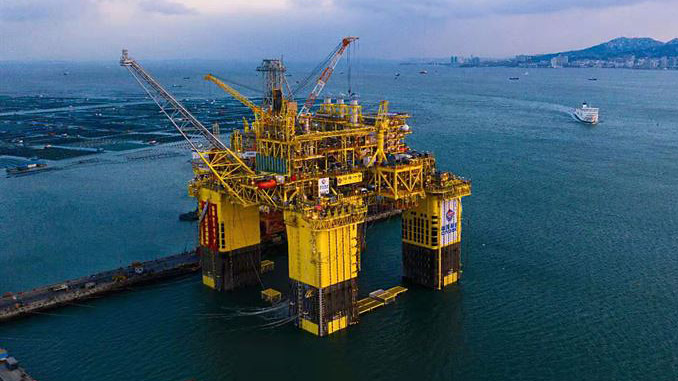 ABS supports delivery of landmark facility for the Chinese offshore industry