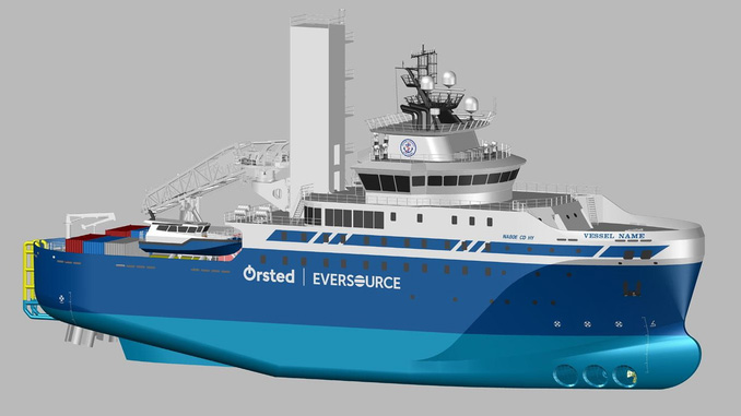 80-metre long SOV will be the first designed and built in the US