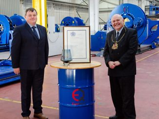 EnerQuip receives a coveted Queens Award for Enterprise for outstanding achievement in the field of International Trade