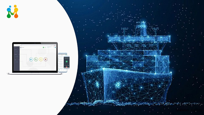 The FrontM micro-suite of collaborative video conferencing and workflow automation applications will be delivered using Fleet Connect over Fleet Xpress