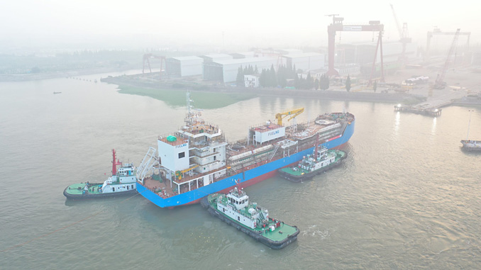 FueLNG has launched Singapore's first LNG bunkering vessel