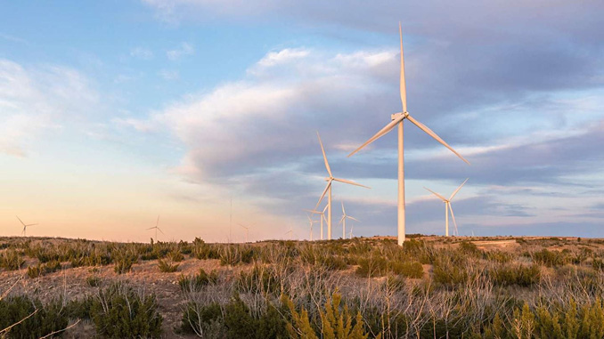 Amazon Wind, one of Ørsted's wind farms in Texas