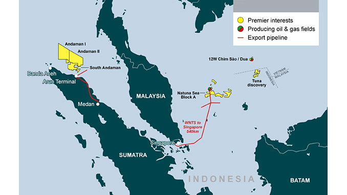 Premier interests in offshore Indonesia