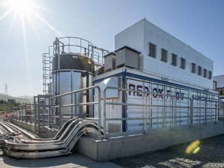 The vanadium redox flow (VRF) battery based at a San Diego Gas & Electric substation