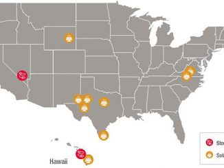 Solar projects of the Total/Hanwha-174PG JV in the USA