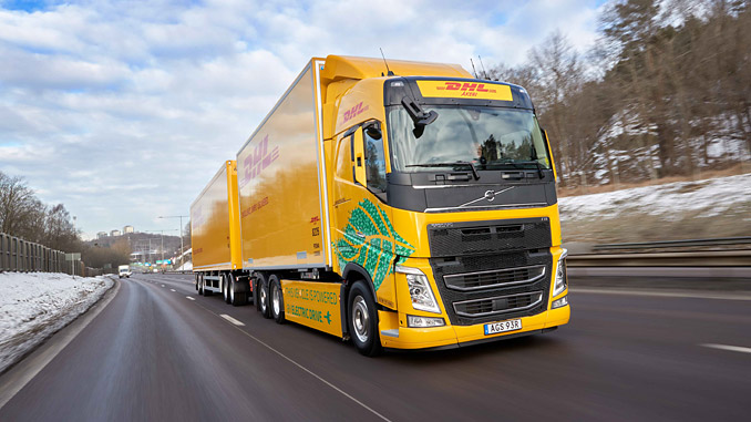 DHL Freight and Volvo Trucks have initiated a project focusing on longer distance heavy transports