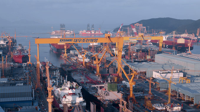 Kongsberg Maritime will supply deck machinery for six LNGC, in build for Novatek at DSME, South Korea
