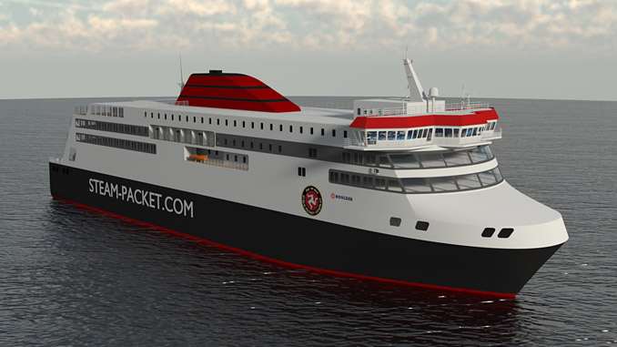 The new IOMSP ferry, the 'Manxman', will operate with a comprehensive range of Wärtsilä solutions