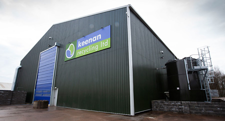 Processing more than 100,000 tonnes of organic waste a year, Keenan Recycling collects food waste from commercial businesses to produce green energy or recycle it into premium grade compost