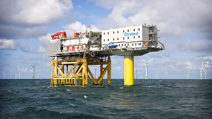 Horns Rev 2 Offshore Wind Farm in Denmark has exceeded all expectations (photo: Ørsted)